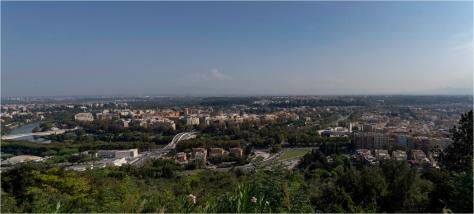 Rome Panorama from Lo Zodiaco, Monte Mario - Derek Chambers