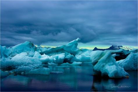 Jökulsárlón Scene, Iceland - Derek Chambers